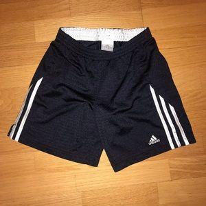 Adidas shirts boys medium black/white NWOT